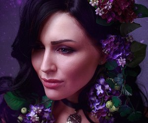 yen, the witcher, and yennefer image