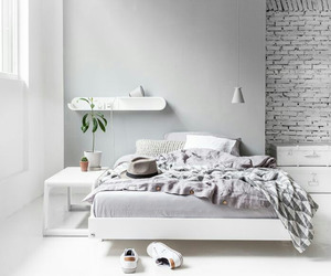 minimal, bedroom, and home image
