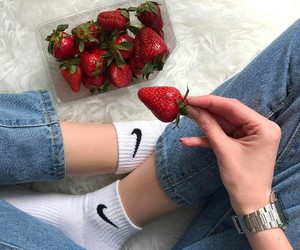 indie and strawberry image