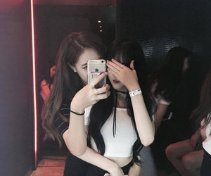 girl, ulzzang, and couple image