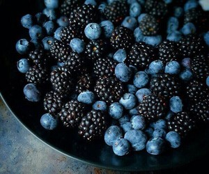 food, blueberry, and berries image