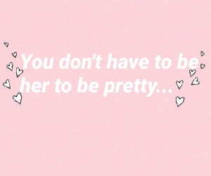 body positivity, love yourself, and don't compete image