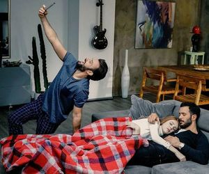 bariş arduç, couple, and funny image