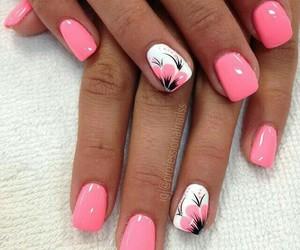 beautiful, nails, and summer image
