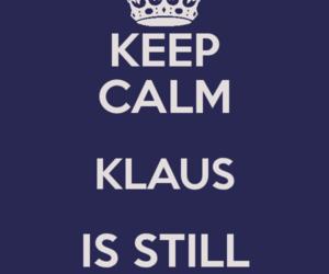alive, Vampire Diaries, and klaus image