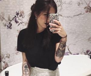 black, mirror, and nerdgirl image