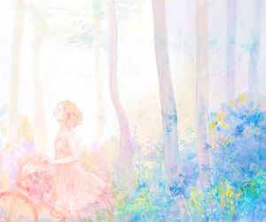 anime and pastel image