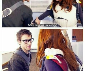 doctor who, rory williams, and amy pond image