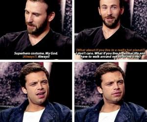 Avengers, bromance, and bucky image