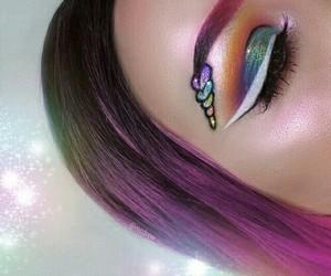 unicorn and makeup image