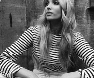 elsa hosk, black and white, and fashion image