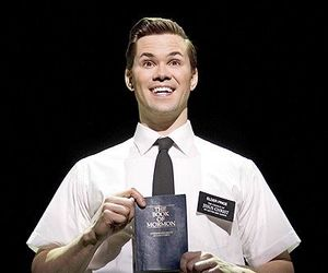 musical, brodway, and the book of mormon image