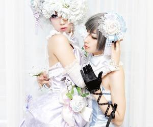 cosplay, kuroshitsuji, and doll image