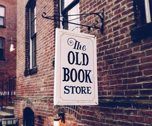 book store, old, and books image