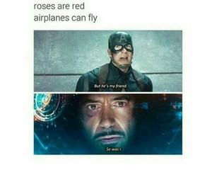 tony stark, stony, and steve rogers image