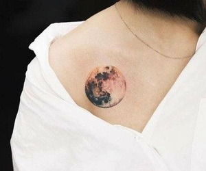 tattoo and moon image