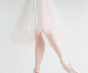 aesthetic, ballerina, and ballet shoes image