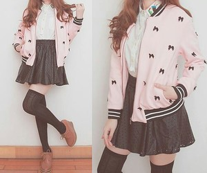 cute, kfashion, and kawaii image
