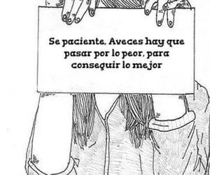 frases en español, paciente, and conseguir image