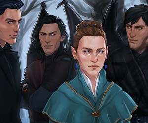 rhys, rhysand, and cassian image