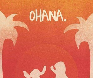 disney, ohana, and stitch image