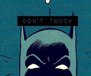 angry, batman, and blue image