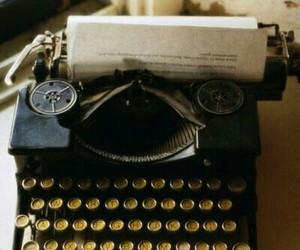 vintage, typewriter, and photography image