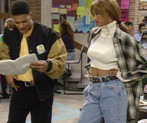 90s, will smith, and 90s fashion image