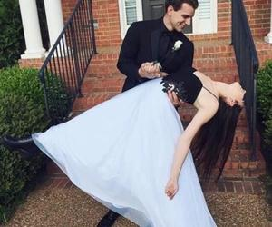 sexy prom dress, long prom dress, and beaded evening dress image
