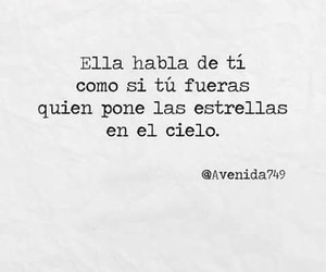 frases, couple, and estrellas image