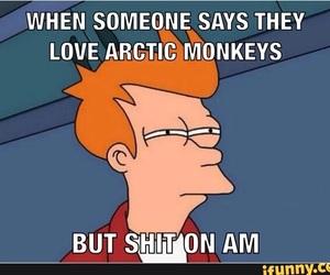 arctic monkeys, meme, and funny image