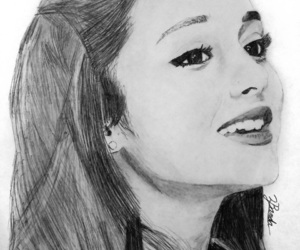 drawing and ariana grande image