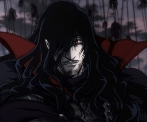 hellsing, anime, and alucard image