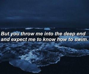 blue, dark, and heartbreak image