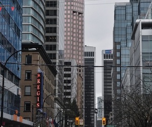 buildings, city, and downtown image