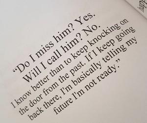i miss him, i miss us, and i'll be okay image