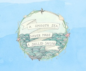 quotes, sea, and sailor image