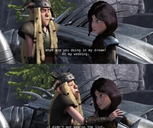 heather, how to train your dragon, and httyd image
