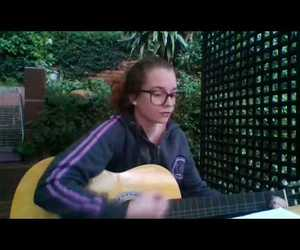 acoustic guitar, youtube, and cover image