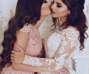 best friends, makeup, and bff image