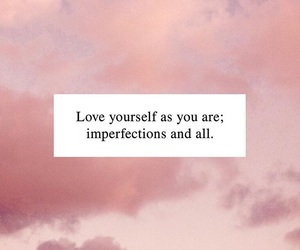 imperfection and love yourself image
