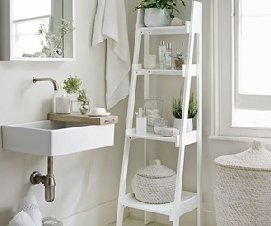 bathroom, white, and ideas image
