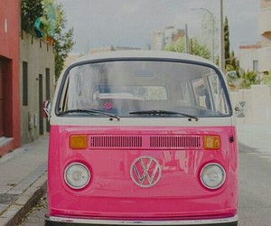 cars, girls, and pink image