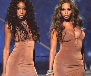 kelly rowland, beyoncé, and mrs carter image