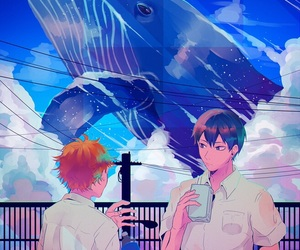 anime, haikyuu, and art image