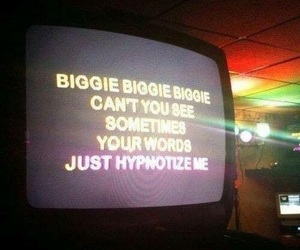 biggie, hypnotize, and Lyrics image