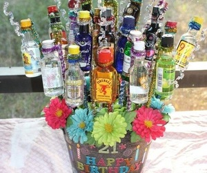 alkohol, colors, and happy birthday image