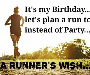 birthday, fitness, and goals image