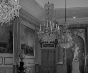 art, chandelier, and classy image