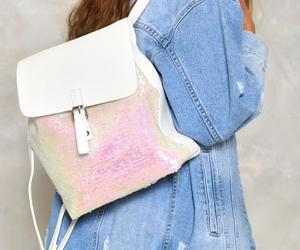 backpack, want, and sequin or lose image